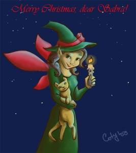 Merry Christmas, Sabra!