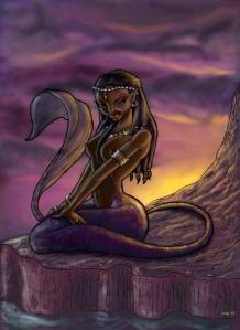 Black Mermaid (mouse)