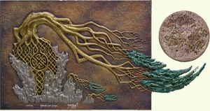 Cast paper by Kevin Dyer.