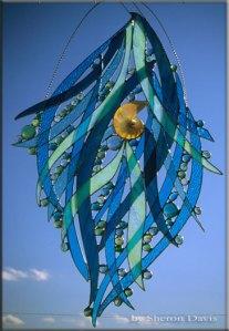 Glass sulpture by Sheron Davis