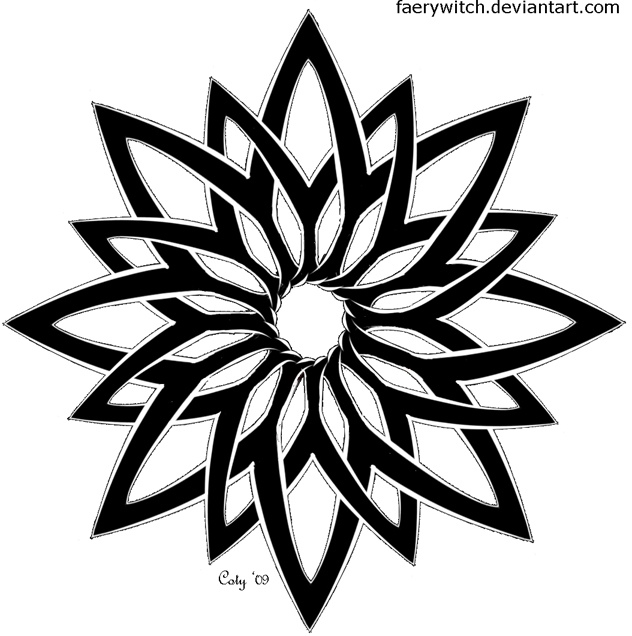 Pin Lotus-flower-stencil-graffiti-pic-16 on Pinterest